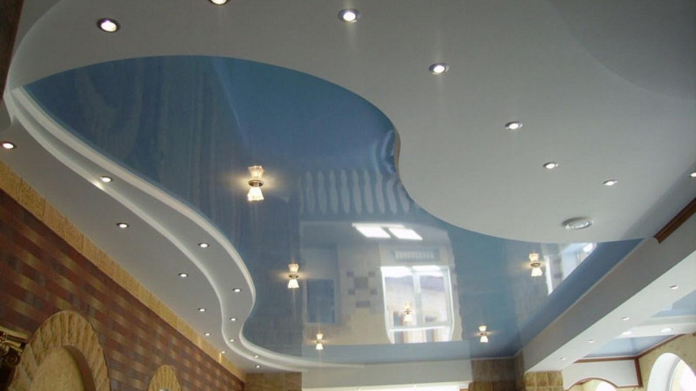 Идеи натяжных потолков фото