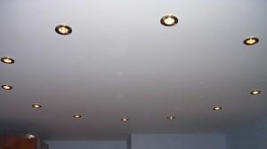 Потолок тканевый