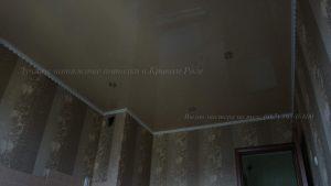 Натяжной потолок с дополнительными углами в кривом роге