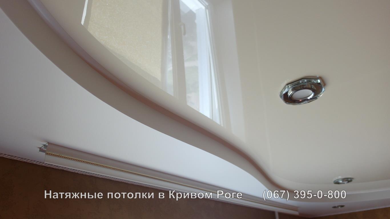 Двухуровневый натяжной потолок фото цены на сайте