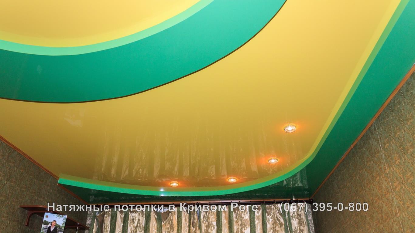 Заказать замер двухуровневого натяжного потолка в кривом роге